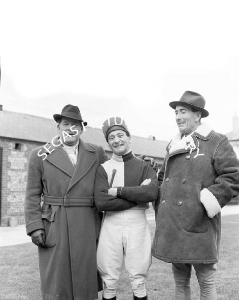 Fred Winter (National Hunt Jockey) with Ryan Price
